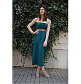 Šaty - Smaragdové 4 šaty v 1 sukni - 9438563_