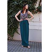 Šaty - Smaragdové 4 šaty v 1 sukni - 9438564_