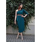 Šaty - Smaragdové 4 šaty v 1 sukni - 9438566_