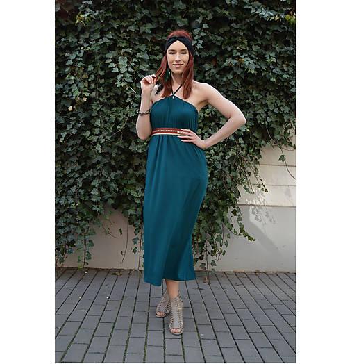 Smaragdové 4 šaty v 1 sukni