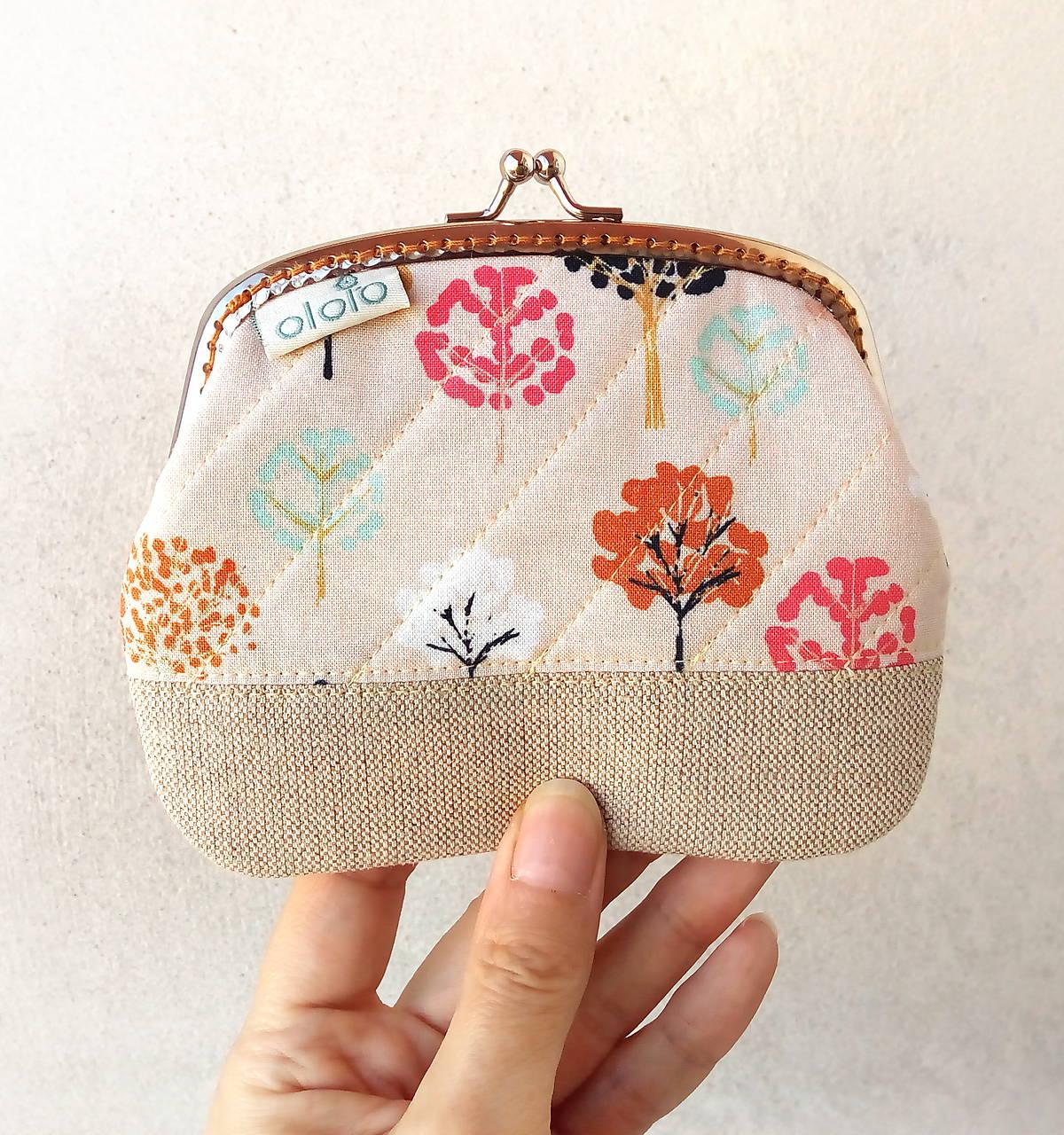 Peňaženka XL Malé stromy