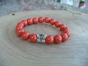 Náramky - náramok z perál z mušlí - 9439373_