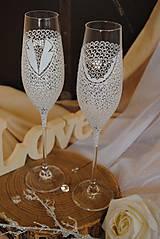Nádoby - Svadobné poháre - 9439943_