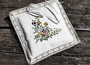 Úžitkový textil - Svadobný vankúšik - 9441304_