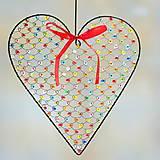 farebné srdce väčšie ♥
