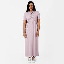 Šaty - Dlhé šaty Violet -30% - 9441715_