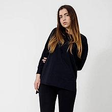 Tričká - Mikino-tričko Black - 9441788_