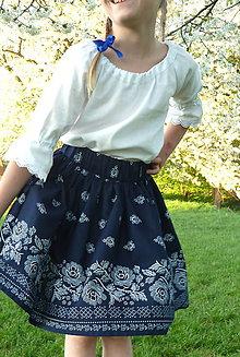 Detské oblečenie - Detská sukienka Bordúra Folk - 9440211_