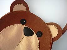 Detské tašky - Dievčenská kabelka (Medvedík) - 9440107_