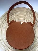 Detské tašky - Dievčenská kabelka (Medvedík) - 9440111_
