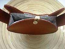 Detské tašky - Dievčenská kabelka (Medvedík) - 9440117_