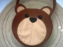 Detské tašky - Dievčenská kabelka (Medvedík) - 9440118_