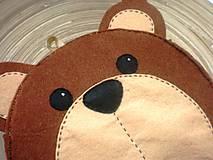 Detské tašky - Dievčenská kabelka (Medvedík) - 9440120_