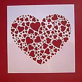 Pomôcky/Nástroje - Šablóna-srdce N 1 - 9440346_