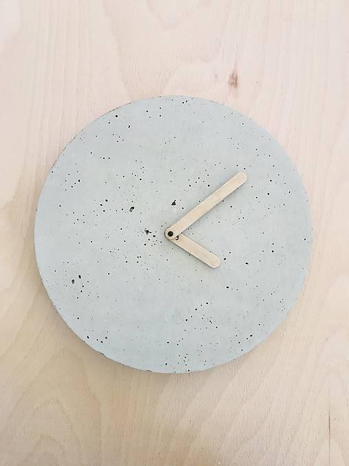 Betónové hodiny - PURE 30