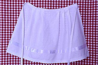 Iné oblečenie - Svadobná zásterka... - 9440188_