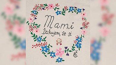 Iné tašky - ♥ Plátená, ručne maľovaná taška ♥ - 9442231_