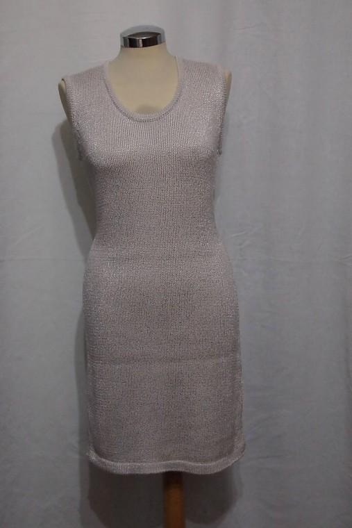 Úpletové šaty jednoduché   BeaTomankova - SAShE.sk - Handmade Šaty 98e4f65d8e2