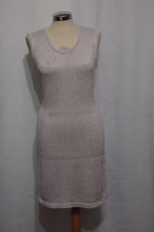 Šaty - Úpletové šaty jednoduché - 9440729_
