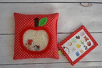 Hračky - Pátračka - Šťavnaté jabĺčko (Spy bag) - 9442255_