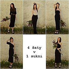 Šaty - 4 šaty v 1 sukni - 9441655_