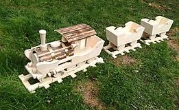 Nádoby - Vlak do záhrady 2 - 9442540_