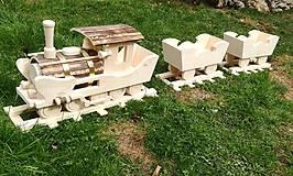 Nádoby - Vlak do záhrady 2 - 9442547_