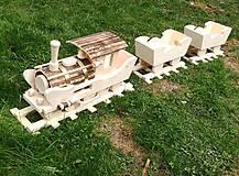 Nádoby - Vlak do záhrady 2 - 9442548_