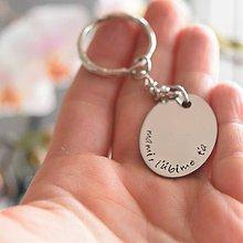 Kľúčenky - Mami, ľúbime ťa - kľúčenka zľava 5€ - 9441769_