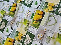 Textil - panel kvetinkový  - 9440674_
