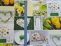 Textil - panel kvetinkový  - 9440678_