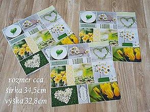 Textil - panel kvetinkový  - 9440669_