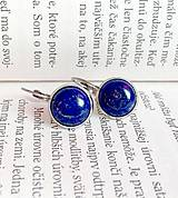 - Lapis Lazuli & Stainless Steel Earrings / Náušnice s lazuritom (Chirurgická oceľ) /0284 - 9444197_