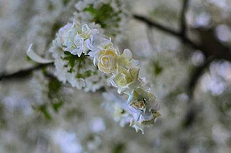 Ozdoby do vlasov - Prvé sv. prijímanie... Čaro kvitnúcich čerešní - 9443983_