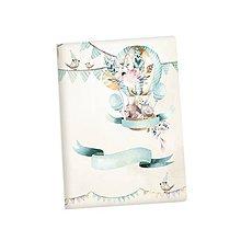 Polotovary - Art journal, zápisník A5 Cute & Co. - 9443894_
