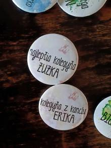 Odznaky/Brošne - odznak najlepší (Kolegyňa) - 9444046_