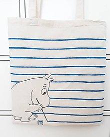 Nákupné tašky - Pán Pásik Moomin - 9443788_