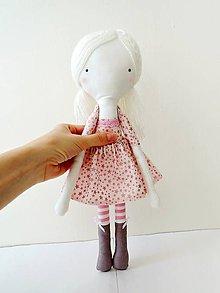 Hračky - Len ja a môj svet - autorská bábika VII. - 9443045_