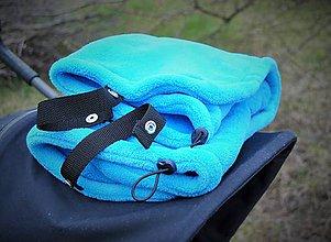 Textil - Deka so špeciálnymi úchytmi/jarný fleecový nánožník - 9447472_