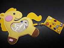 Spy bag koník (Žltá)