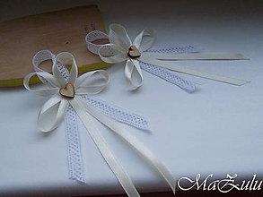 Pierka - Vintage svadobné pierko stredné - 9446807_