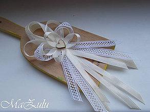Pierka - Vintage svadobné pierko veľké - 9446829_