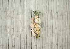 Ozdoby do vlasov - Svadobný polvenček - 9444748_
