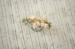 Ozdoby do vlasov - Svadobný polvenček - 9444751_