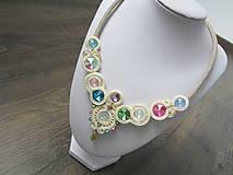 Náhrdelníky - Šujtášový náhrdelník - 9447742_