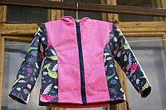 Detské oblečenie - Jarná softshellová bunda - 9445403_