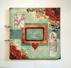 Papiernictvo - Svadobný fotoalbum 30x30 cm - 9445011_