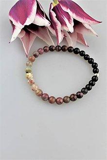 Náramky - turmalín viacfarebný náramok - 9446199_