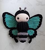 Hračky - Motýľ Kvetoslav - 9446871_