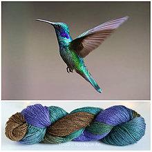 Galantéria - HUMMINGBIRD - ručne farbená vlna - 9447806_